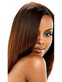 זול צעיפים אופנתיים-שיער הודי יקי שיער ראמי טווה שיער אדם 1 עניץ 10-20 אִינְטשׁ שוזרת שיער אנושי הבינוני אובורן תוספות שיער אדם