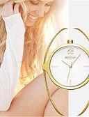 baratos Relógios da Moda-Mulheres Relógio de Moda Quartzo Lega Banda Analógico Amuleto Luxo Dourada - Dourado Branco