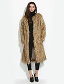 cheap Women's Fur Coats-Women's Plus Size /  Party/Cocktail Casual Fur Coat