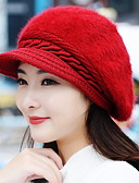 cheap Fashion Hats-Women's Vintage Baseball Cap - Solid Colored
