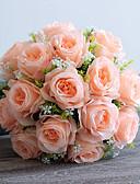 preiswerte Herren Blazer & Anzüge-Künstliche Blumen 1 Ast Europäischer Stil Rosen Tisch-Blumen