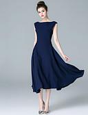 cheap Women's Dresses-ZIYI Women's Casual A Line Dress - Solid Colored
