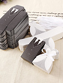 cheap Wedding Veils-Round Square Creative Card Paper Favor Holder with Printing Favor Boxes - 12