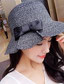 رخيصةأون قبعات نسائية-قبعة الماصة / قبعة شمسية لون سادة نسائي عطلة / الصيف