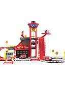 abordables Tops de Mujeres-Sets de garaje de juguete Ambulancia Camión de bomberos Creativo Simulación Clásico Chico Chica Juguet Regalo