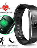 cheap Smart Activity Trackers & Wristbands-Smart Bracelet iOS Android Timer Touch Screen Heart Rate Monitor Water Resistant / Water Proof Calories Burned Pedometers Exercise Record