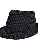 billige Belter til herrer-Unisex Bøttehatt Stripet Bomull
