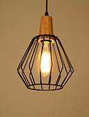 halpa Naisten mekot-Rustiikki Vintage Kantri Moderni/nykyaikainen LED Riipus valot Tunnelmavalo Käyttötarkoitus Olohuone Makuuhuone Ruokailuhuone