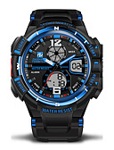 cheap Sport Watches-Men's Sport Watch Military Watch Wrist Watch 30 m Water Resistant / Water Proof Alarm Calendar / date / day Rubber Band Analog-Digital Camouflage Black / Green - Red Blue Black / White Two Years