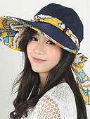 billige Hatter til damer-Dame Gatemote Solhatt Lapper / Sommer