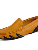 cheap Men's Hoodies & Sweatshirts-Men's Shoes Leather / Cowhide Spring / Fall Comfort / Driving Shoes Loafers & Slip-Ons Black / Brown / Blue / Comfort Loafers