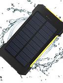 Недорогие Внешние аккумуляторы-8000 mAh Назначение Внешняя батарея Power Bank 5 V Назначение 1 A / 2 A Назначение Зарядное устройство Подсветка / Несколько разъемов / Зарядка от солнца