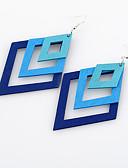 preiswerte Bluse-Damen Ohrring - Personalisiert, Simple Style, Euramerican Purpur / Kaffee / Blau Für Hochzeit / Party / Geburtstag