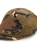 baratos Chapéus de Moda-Homens Activo Algodão, Boina - Estampado