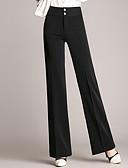 cheap Women's Pants-Women's Plus Size Slim Chinos Pants - Solid Colored Pure Color