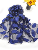 cheap Women's Scarves-Women's Party Silk Rectangle / Cute
