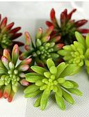 baratos Jaquetas Bomber Femininas-Flores artificiais 1 Ramo Pastoril Estilo Plantas Flor de Mesa