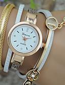 abordables Relojes Brazalete-Mujer Reloj Pulsera Colorido Piel Banda Bohemio / Moda Negro / Blanco / Azul / Un año / Tianqiu 377