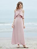 levne Dámské šaty-Dámské Plážové Vintage Swing Šaty - Jednobarevné Maxi Pod rameny