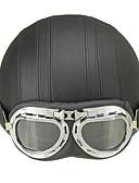 저렴한 남성 티셔츠&탱크 탑-하프헬맷 구글과 헬멧 ABS 오토바이 헬멧