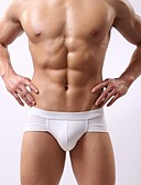 cheap Men's Underwear & Socks-Men's Super Sexy Briefs Underwear Solid Colored 1 Piece