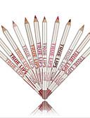billige Todelte sæt til damer-Penne og blyanter Lipliner Tør Farvet glans / Naturlig Makeup Kosmetiske Plejemidler