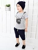 tanie Topy dla dziewczynek-Brzdąc Unisex Sport / Szkoła Nadruk Krótki rękaw Bawełna T-shirt