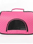 ieftine Costum Damă Două Bucăți-Pisici Câine Portbagaje & rucsacuri de călătorie Umăr Bag Animale de Companie  Genţi Transport Portabil Respirabil Mată Mov Fucsia Maro