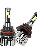 cheap Ice Skating Dresses , Pants & Jackets-2pcs 9007 Car Light Bulbs 40W 4000lm LED Headlamp For universal