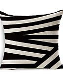 cheap Cover Ups-1 pcs Cotton / Linen Pillow Cover Pillow Case, Geometric Pattern Novelty Fashion Geometric Vintage Casual