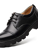 cheap Gloves-Men's Formal Shoes Nappa Leather Fall / Winter Oxfords Black / Party & Evening