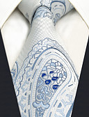 cheap Men's Ties & Bow Ties-Men's Party Work Basic Rayon Necktie - Paisley Jacquard Basic