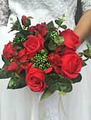 ieftine Flori de Nuntă-Flori de Nuntă Buchete / Decor Nuntă Unic / Altele Nuntă / Ocazie specială / Party / Seara Material / Dantelă 0-20cm