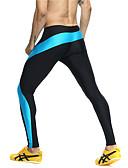 abordables Pantalones y Shorts de Hombre-Hombre Retazos Pantalones ajustados de running - Verde, Azul Deportes Bloques Medias / Mallas Largas Fitness, Gimnasia, Rutina de ejercicio Ropa de Deporte Secado rápido, Alta transpirabilidad