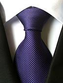 זול עניבות ועניבות פרפר לגברים-עניבת צווארון - נקודות פריטים לצוואר נקודה בגדי ריקוד גברים כל