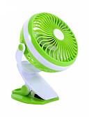 abordables Neutralidad Total-360 grados de mini usb que carga el ventilador del dormitorio del ventilador del cochecito