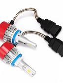 baratos Abrigos e Moletons Masculinos-H8 / H11 / H9 Carro Lâmpadas LED Integrado 3600lm LED Lâmpada de Farol