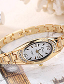 cheap Fashion Watches-Women's Wrist Watch Quartz Silver / Gold / Rose Gold Creative Cool Analog Ladies Charm Luxury Casual Fashion - Gold Silver Rose Gold One Year Battery Life / SSUO LR626