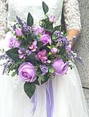 baratos Véus de Noiva-Bouquets de Noiva Buquês Festa / noite