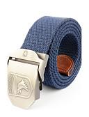 cheap Fashion Belts-Men's Alloy Waist Belt - Solid Colored Pure Color