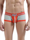 cheap Men's Underwear & Socks-Men's Super Sexy Boxer Briefs Patchwork 1 Piece