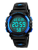 cheap Dress Watches-SKMEI Sport Watch / Military Watch / Wrist Watch Japanese Alarm / Calendar / date / day / Chronograph PU Band Fashion Black / Water Resistant / Water Proof / Stopwatch / Noctilucent