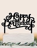 رخيصةأون زينة الكيك-كعكة توبر عيد ميلاد الزفاف جودة عالية بلاستيك زفاف عيد ميلاد مع 1 حقيبة PVC