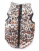 abordables Relojes de Hombre-Gato Perro Abrigos Camiseta Sudadera Chaleco Ropa para Perro Leopardo Leopardo Algodón Disfraz Para mascotas Mujer Fiesta Casual/Diario