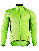 cheap Women's Dresses-Nuckily Men's Cycling Jacket Bike Jacket / Windbreaker / Raincoat Waterproof, Quick Dry, Windproof Patchwork Polyester Green Bike Wear