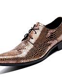 preiswerte Hüte-Unisex Formal Schuhe Nappaleder Herbst / Winter Outdoor Gold / Party & Festivität / Abendschuhe