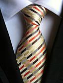 olcso Férfi nyakkendők és csokornyakkendők-Férfi Csíkos Nyakbavaló / Csíkos - Nyakkendő
