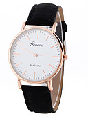 cheap Quartz Watches-Geneva Women's Sport Watch / Wrist Watch Creative / Casual Watch / Cool Leather Band Charm / Luxury / Casual Black / White / Brown / One Year / SSUO LR626