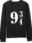 رخيصةأون ملابس السباحة والبيكيني 2017 للنساء-نسائي قطن بنطلون - لون سادة طباعة أسود / الربيع / الخريف / مناسب للخارج
