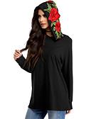 cheap Women's Hoodies & Sweatshirts-Women's Going out Holiday Cotton Hoodie - 3D Print